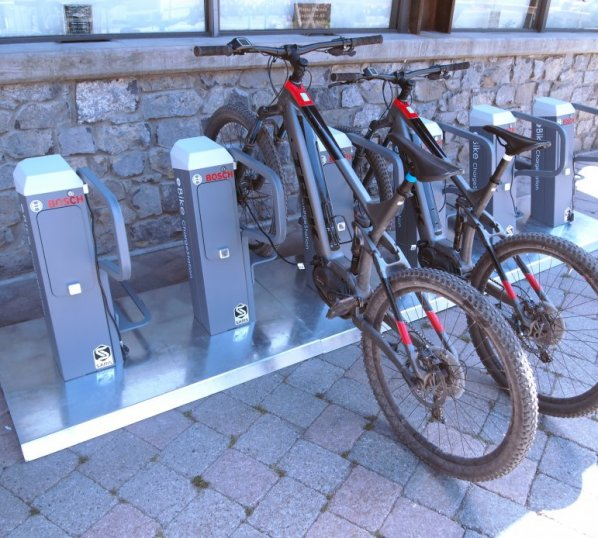 E-Bike Charging Station